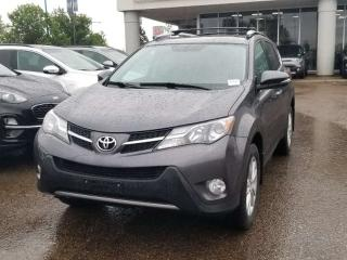Used 2014 Toyota RAV4 LIMITED; BACKUP CAMERA, BLUETOOTH, HEATED SEATS AND MORE for sale in Edmonton, AB