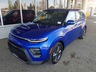 Used 2020 Kia Soul EX+; ADVANCED SAFTEY, BLUETOOTH, BACKUP CAM, SUNROOF AND MORE for sale in Edmonton, AB