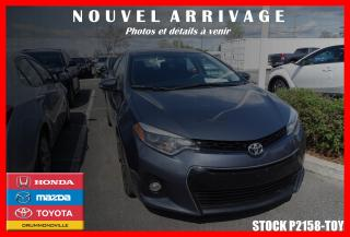 Used 2014 Toyota Corolla S Cuir Toit Nav for sale in Drummondville, QC