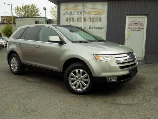 Used 2008 Ford Edge ***Limited,4X4,CUIR,TOIT PANO*** for sale in Longueuil, QC