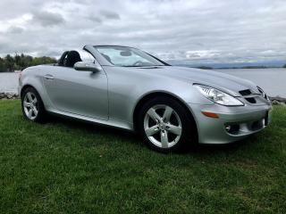 Used 2007 Mercedes-Benz SLK 3.0L with only 61685 for sale in Perth, ON