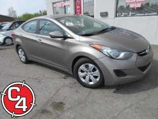 Used 2013 Hyundai Elantra Gl 6vit A/c for sale in St-Jérôme, QC
