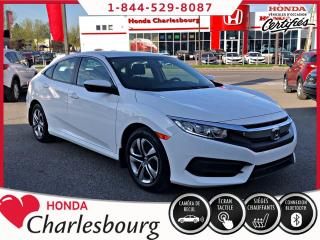 Used 2017 Honda Civic LX ***UN PROPRIÉTAIRE***23 981 KM** for sale in Charlesbourg, QC