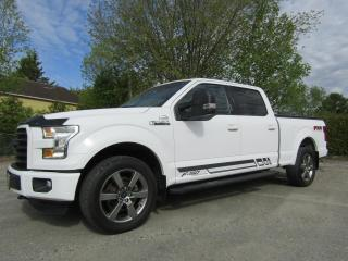 Used 2016 Ford F-150 SUPERCREW XLT 302A SPORT FX4 BOITE 6.5' for sale in Thetford Mines, QC