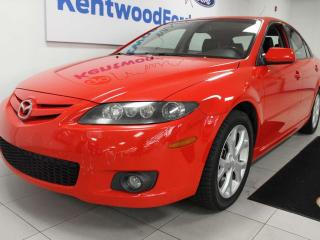 Used 2008 Mazda MAZDA6 GT FWD V6 with sunroof and heated power leather seats for sale in Edmonton, AB