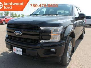 Used 2019 Ford F-150 LARIAT 502A, 4X4 Supercrew, 3.5L Ecoboost, Auto Start/Stop, Keyless Entry, Remote Vehicle Start, Reverse Camera, and Moonroof for sale in Edmonton, AB