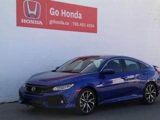 New 2019 Honda Civic SI Sedan BASE for sale in Edmonton, AB