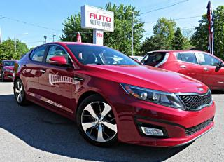 Used 2015 Kia Optima EX LUXE NAVIGATION CUIR for sale in Repentigny, QC