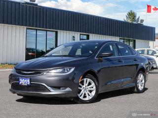 Used 2015 Chrysler 200 Limited,R/V CAM,B.TOOTH,HEATED SEATS for sale in Barrie, ON