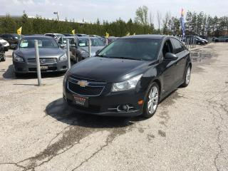 Used 2011 Chevrolet Cruze LTZ Turbo w/1SA for sale in Newmarket, ON