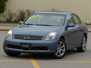 Used 2006 Infiniti G35X LOW KMS,AWD,LEATHER,FULL OPTION,SHOWROOM CONDITION for sale in Mississauga, ON