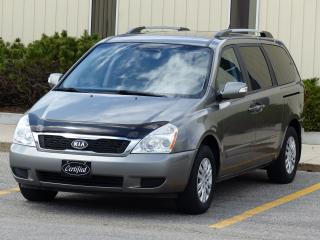 Used 2011 Kia Sedona BLUETOOTH,HEATED SEATS,BACK-UP SENSORS,NO-ACCIDENT for sale in Mississauga, ON