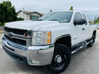 Used 2007 Chevrolet Silverado 2500 RARE 2500HD 4x4 3 YEAR WARRANTY! for sale in Kelowna, BC