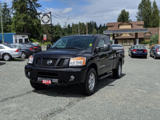 Used 2010 Nissan Titan Pro-4X for sale in Black Creek, BC