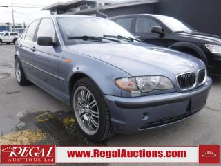 Used 2003 BMW 3 Series 330XI 4D Sedan AWD for sale in Calgary, AB