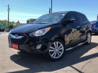 Used 2012 Hyundai Tucson Limited, navi, leather sunroof for sale in Toronto, ON