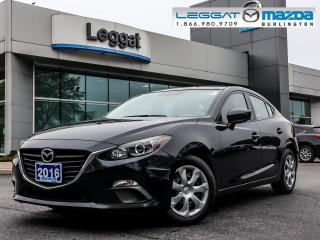 Used 2016 Mazda MAZDA3 GX- AUTOMATIC, A/C, BLUETOOTH, 2.0L SKY-G for sale in Burlington, ON
