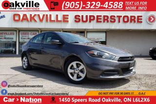 Used 2016 Dodge Dart SXT | SUNROOF | B/U CAM | CRUISE | BLUETOOTH for sale in Oakville, ON