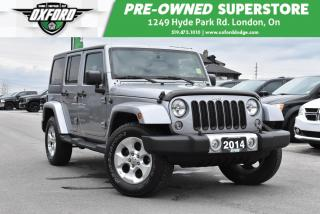Used 2014 Jeep Wrangler Unlimited Sahara - One Owner, Running Boards, GPS for sale in London, ON