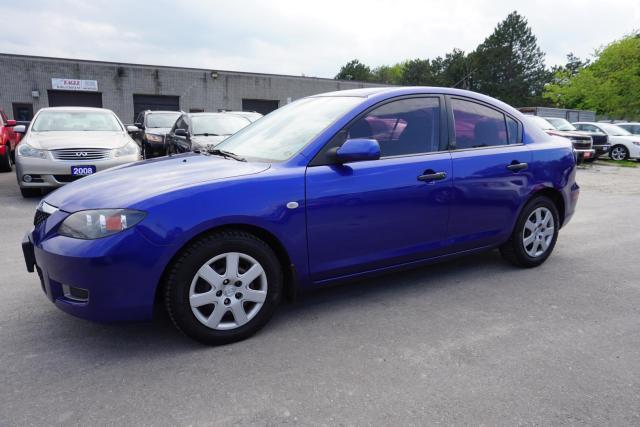 2007 Mazda MAZDA3 SPORT SEDAN AUTO CERTIFIEF 2YR WARRANTY *ACCIDENT FREE*SERVICE RECORD* AUX
