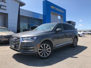 Used 2018 Audi Q7 QUATTRO for sale in Barrie, ON