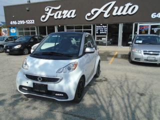 Used 2013 Smart fortwo NAVIGATION & MOON ROOF for sale in Scarborough, ON