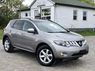 Used 2009 Nissan Murano No-Accidents SL AWD Pano Roof Backup Camera for sale in Sutton, ON