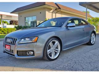 Used 2012 Audi S5 2dr Cpe Auto Premium Plus for sale in Oakville, ON
