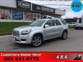 Used 2015 GMC Acadia Denali  AWD DUAL-ROOF NAV LD CW HUD CAM BS for sale in St. Catharines, ON
