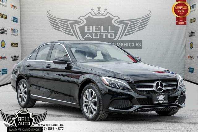 2016 Mercedes-Benz C-Class C 300, NAVI, BACK-UP CAM, PANO ROOF, LEATHER, SENSORS