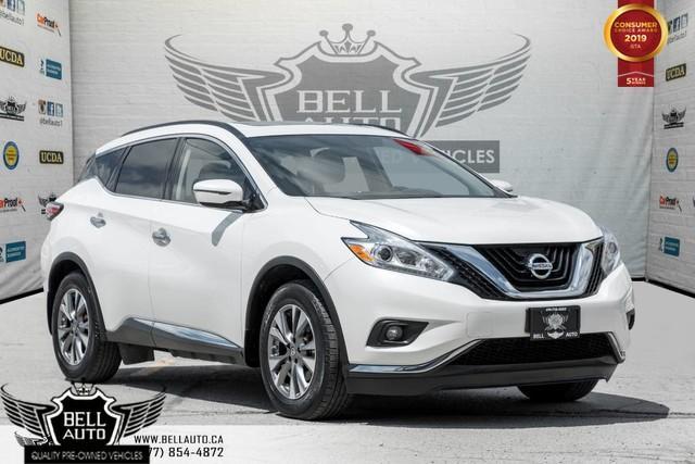 2016 Nissan Murano SV, AWD, NAVI, BACK-UP CAM, PANO ROOF, PUSH START, BLUETOOTH