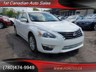 Used 2015 Nissan Altima 2.5 S-NO ACCIDENTS-LOW Monthly PAYMENTS!! for sale in Edmonton, AB