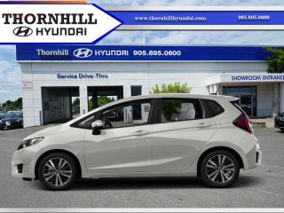 Used 2016 Honda Fit EX-L Navi  - Low Mileage for sale in Thornhill, ON