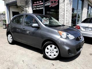 Used 2017 Nissan Micra SV à hayon 4 portes BA for sale in Longueuil, QC