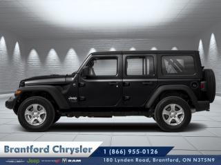New 2019 Jeep Wrangler Unlimited Sahara  - Navigation - $336.75 B/W for sale in Brantford, ON