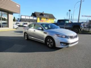 Used 2013 Kia Optima Hybrid for sale in Langley, BC