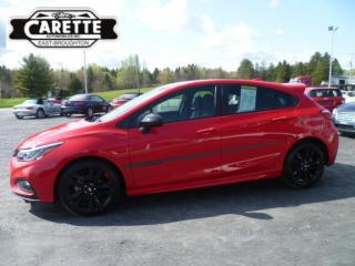 Used 2018 Chevrolet Cruze Rs Red Line for sale in East broughton, QC