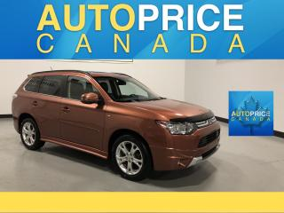 Used 2014 Mitsubishi Outlander 7PASS|GT|NAVIGATION||LEATHER|MOONROOF for sale in Mississauga, ON