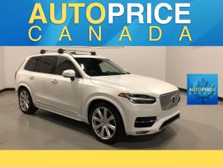 Used 2016 Volvo XC90 T6 Inscription 7PASS|NAVIGATION|PANOROOF|LEATHER for sale in Mississauga, ON