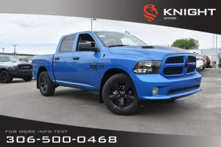 New 2019 RAM 1500 Classic Express Blackout Crew Cab | 8.4