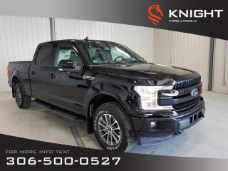 New 2019 Ford F-150 LARIAT SuperCrew Sport-157 for sale in Moose Jaw, SK