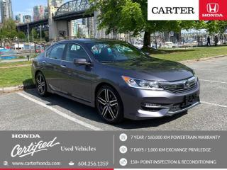Used 2016 Honda Accord Sport for sale in Vancouver, BC