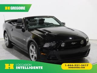 Used 2014 Ford Mustang GT CABRIOLET CUIR for sale in St-Léonard, QC