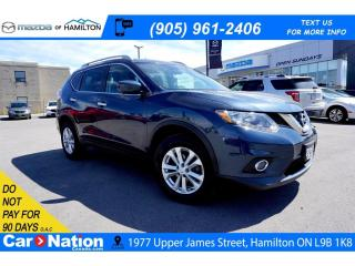 Used 2016 Nissan Rogue SV | NAV | PANO ROOF | HEATED SEATS | SAT RADIO for sale in Hamilton, ON