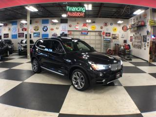 Used 2015 BMW X3 X DRIVE 28D PREMIUM PKG LEATHER PANO/ROOF CAMERA for sale in North York, ON