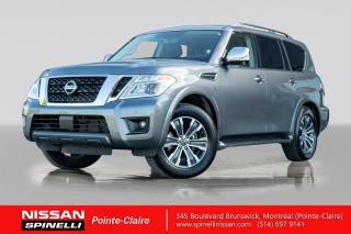 Used 2019 Nissan Armada SL 8 PASSAGERS / CUIR / VOLANT CHAUFFANT / BANC CHAUFFANT / NAVIGATION for sale in Montréal, QC