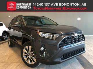 New 2019 Toyota RAV4 XLE Premium Package for sale in Edmonton, AB
