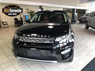 Used 2016 Land Rover Discovery Sport HSE LUX for sale in North York, ON