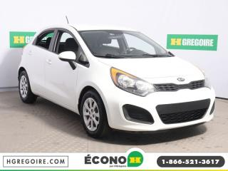 Used 2013 Kia Rio LX GR ELECT for sale in St-Léonard, QC