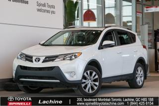 Used 2015 Toyota RAV4 LIMITED AWD for sale in Lachine, QC